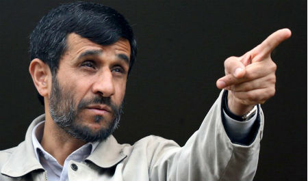 El presidente Ahmadinejad, de Irán