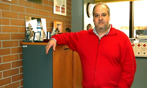 O profesor Enrique Varela.