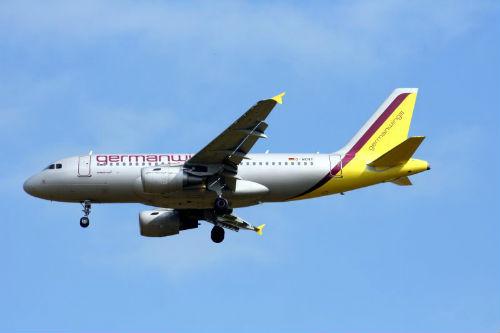 Avión compañía Germanwings