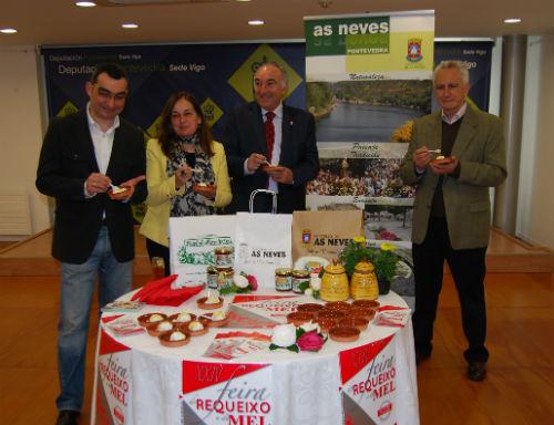 Un momento de la presentación de la XXIV Festa do Requeixo, este martes en la sede de la Diputación en Vigo/Tresyuno Comunicación