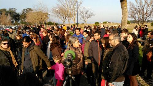 Eclipse en Vigo, este viernes/Tresyuno Comunicación