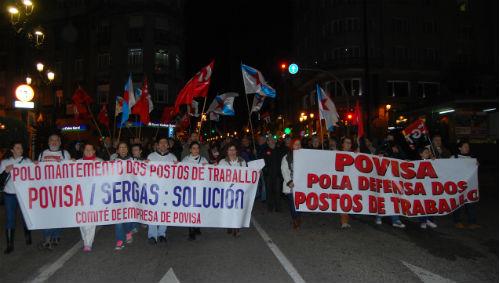Cientos de personas recorrieron este viernes el centro de Vigo/Tresyuno Comunicación