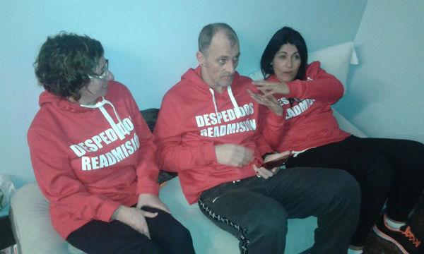 Chus, Eduardo y Carmen, están en huelga de hambre desde hace 11 días
