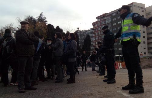 Protesta en la rotonda de Alcampo (archivo)/Tresyuno Comunicación