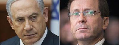 Netanyahu y Herzog