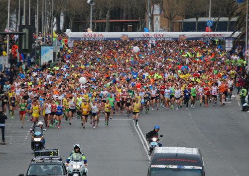 Miles de corredores estarán en la Vig-Bay, este fin de semana/Tresyuno Comunciación