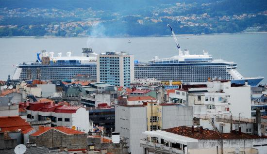 El Athem of the seas, en Vigo este viernes/Tresyuno Comunicación