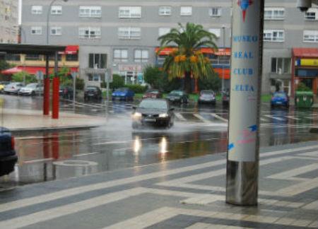 Con esta acción se pretende evitar las inundaciones en lugares como la rúa Olímpicos