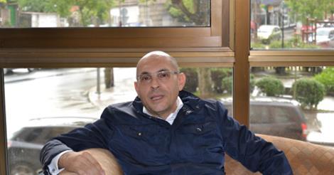 El juez Elpidio Silva, en Vigo el pasado sábado/Tresyuno Comunicación