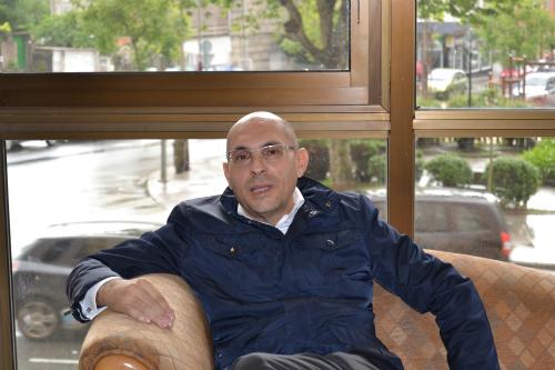 El juez Elpidio Silva, este sábado en Vigo/Tresyuno Comunicación