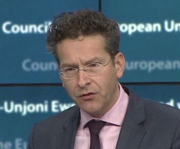 Jeroen Dijsselbloem, presidente del Eurogrupo, no ha sido elegido por los ciudadanos, sino nombrado a dedo por la canciller Merkel