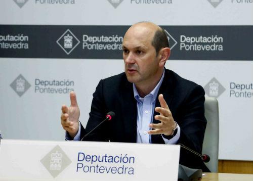 O presidente da Deputación de Pontevedra, Rafael Louzán