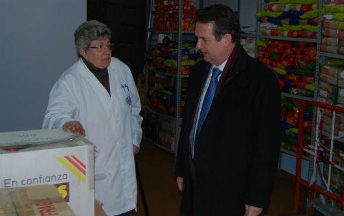 A presidenta de AFAN, Tensi Fernández, co alcalde nunha visita de este a AFAN/Tresyuno Comunicación
