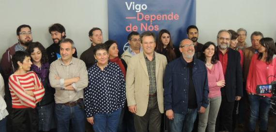 Os candidatos do BNG ás vindeiras Eleccións Municipais, en Vigo