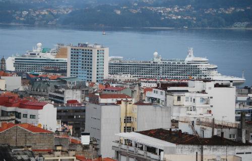 El Ventura, este lunes por la mañana, en Vigo/Tresyuno Comunicación