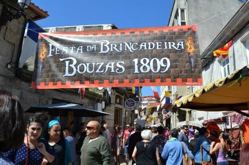 A Brincadeira congregó a miles de personas en Bouzas/Tresyuno Comunicación