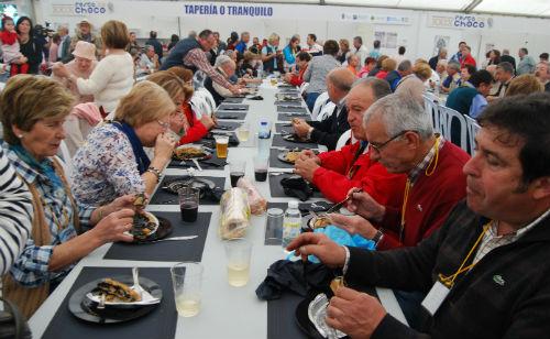 Miles de personas se acercaron a Redondela este fin de semana/Tresyuno Comunicación