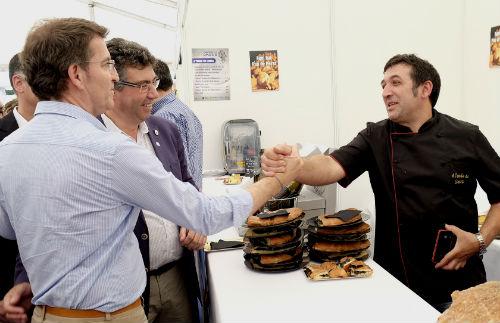 El presidente del Gobierno de Galicia y el alcalde
