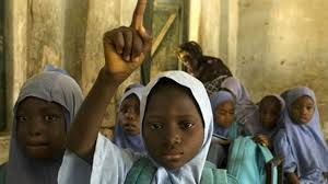 Niñas secuestradas por los terroristas de Boko Haram