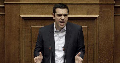 El primer ministro Tsipras