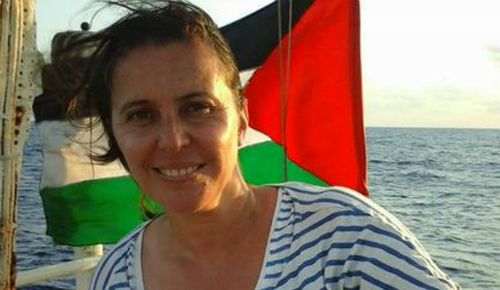 A eurodeputada do Bloque, Ana Miranda
