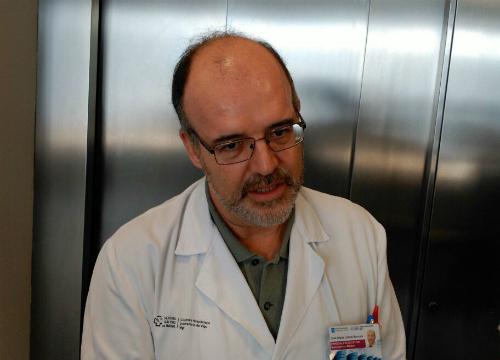 El doctor José María Lamas, jefe de la Unidad de Nefrología/ Tresyuno Comunicación
