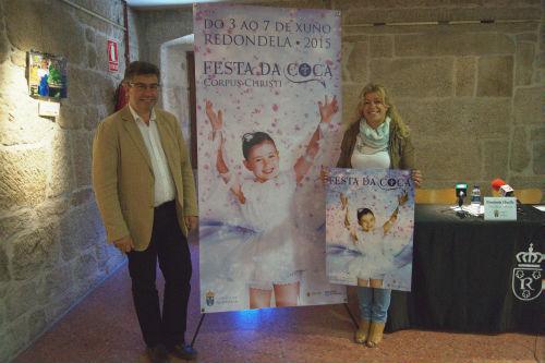 El alcalde de Redondela, Javier Bas, este martes durante la presentación del programa de fiestas