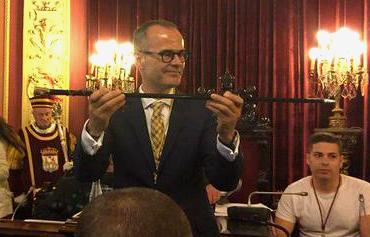 O ex conselleiro Jesús Vázquez, novo alcalde de Ourense/Foto: @PPdeOU