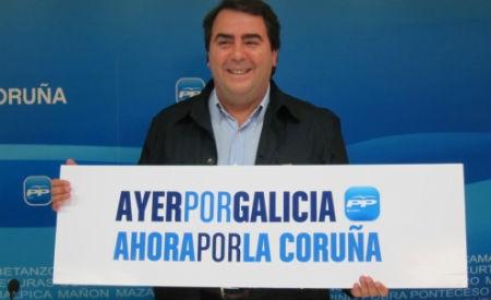 Carlos Negreira, anterior alcalde de A Coruña