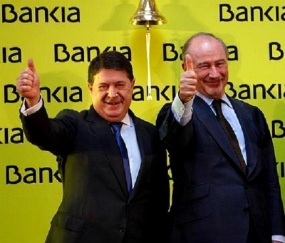 Olivas junto a otro 'honrado' ciudadano, Rodrigo Rato/ Foto: www.laveupv.com