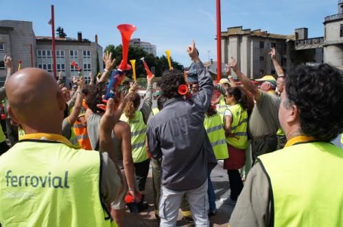 Protesta Cespa