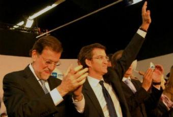 Rajoy e Feijóo/Tresyuno Comunicación