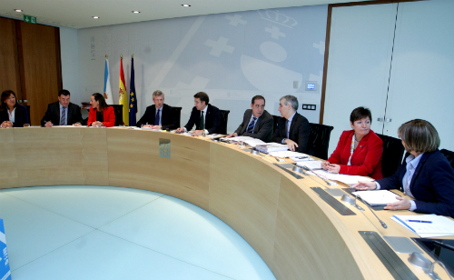 Reunión del Gobierno de Galicia