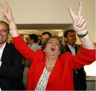 Rita Bárberá cuando ganaba