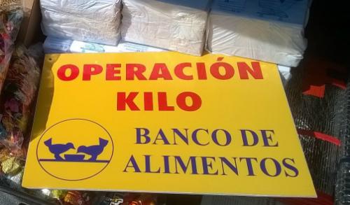 material para Operación Kilo Alcampos