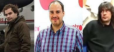 Ángel Sastre, Antonio Pampliega y José Manuel López
