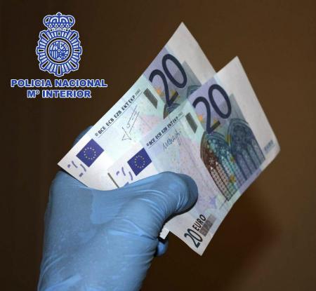 Billetes Policía Nacional
