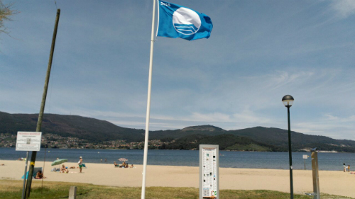 Cesantes repetiu a bandeira azul este ano/Tresyuno Comunicación