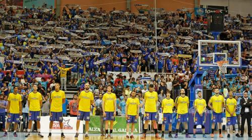 La plantilla del Club Ourense/ Foto: www.clubourensebaloncesto.com