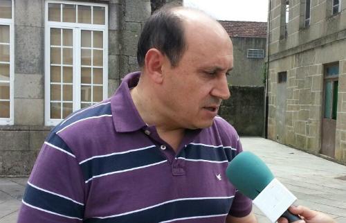 Horacio Gil, alcalde de Arbo