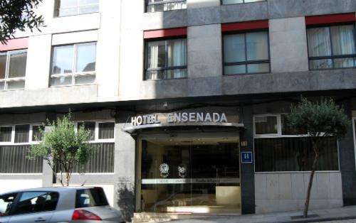 El Ensenada, que lleva en Vigo 43 años, tiene una ocupación del 75% en invierno y todas las habitaciones reservadas hasta el próximo mes de octubre/Tresyuno Comunicación