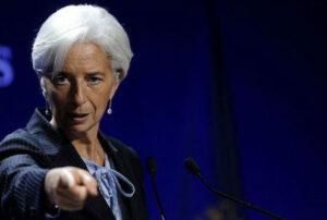 La directora del Fondo Monetario Internacional