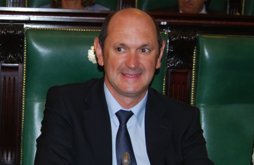 El presidente saliente, Rafael Louzán/Tresyuno Comunicación