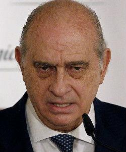 El ministro de Interior, Fernández, principal impulsor de la Ley Mordaza