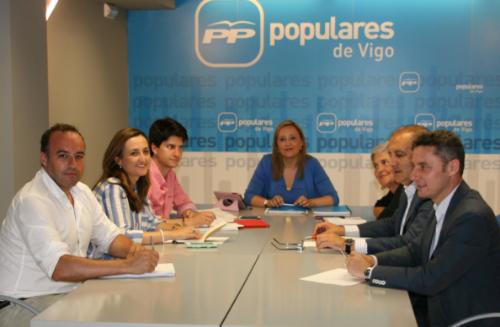 Los 7 concelleiros del Partido Popular