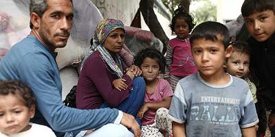 Refuxiados sirios