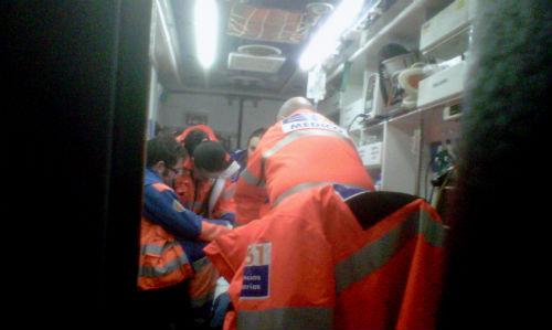 Ambulancia del 061 (ARCHIVO)