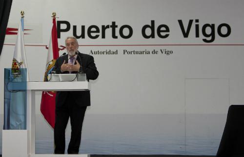 EL nuevo presidente del Puerto, este martes tras su toma de posesión/ Foto: Cortesía de Salvador Sas