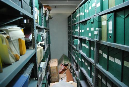 EL estado de los archivos del Concello es lamentable