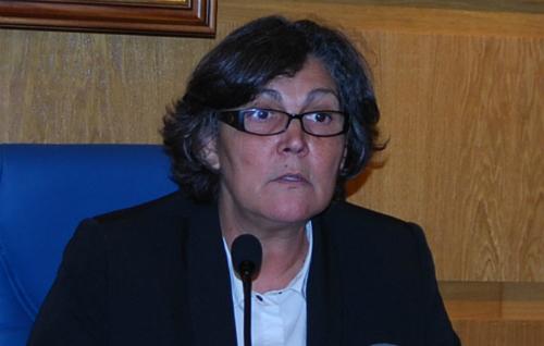 La alcaldesa de Porriño, Eva García de la Torre